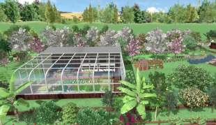 Solar Pasive Greenhouse and Aquaponic System   - Regenerative Agriculture Area
