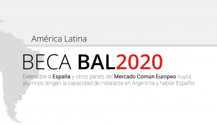 BAL Scholarship, Latin America Scholarship, exclusive for non-residents in Argentina of Latin American origin. INICIAL FEE U$S 200
