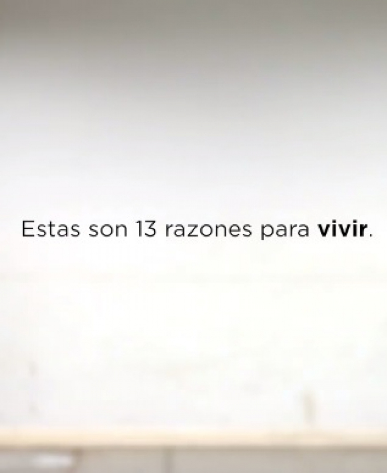 13 razones para vivir